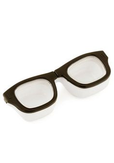 LOL!!  I WANT THIS!!! For Four Eyes Only Contact Case, #ModCloth