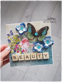 Beauty Card special card for someone special by MaremiSmallArt