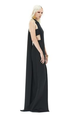 Elexis | Black maxi dress by Solace London