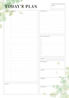 Great Absolutely Free daily planner bujo Popular Paper planners are effective only if you utilize them properly and regularly. Here are a few ways to To Do Planner, Hourly Planner, Daily Planner Pages, Printable Planner Pages, Planner Layout, Free Planner, Free Printables, Daily Planners, Free Daily Planner Printables