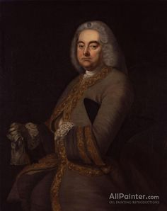 Thomas Hudson,George Frideric Handel oil painting reproductions for sale