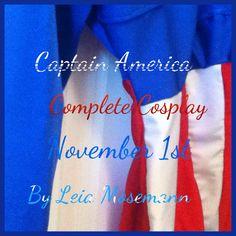 Update on my Captain America Costume Captain America Cosplay, Red Bull, Energy Drinks