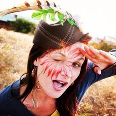 Face paint photo shoot'