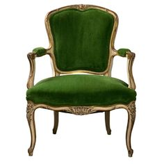 French Louis XV Style Armchair - The Salvation Army had two chairs just like this one. They wanted $100.00 each which was pricey BUT the following Friday was 50% off day so someone got a great bargain. - MRW