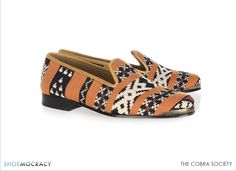 Today I'm loving these Cobra Society Najet leather-trimmed tapestry loafers Designer Clothes Sale, Discount Designer Clothes, Heeled Loafers, Heels, Me Too Shoes, Men's Shoes, Footwear, Shoe Bag, My Style
