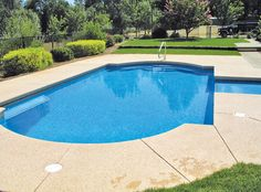 Grecian Style Pool built by Blue Haven Pools Chico.