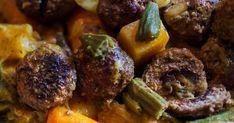 <p>Une délicieuse recette de boulettes de boeuf farcies aux dattes, proposée par le chef Atigh Oulddu restaurant marocain La Khaïma de l'émission Resto Mundo.</p> Pot Roast, Steak, Ethnic Recipes, Food, Carnivore, Orient, Table, Recipes, Ideas