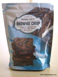 Brownie Crisp (a rich brownie taste with a crisp, cookie crunch) #traderjoes