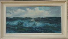 SUPERB V BERK MARINE MARITIME GERMAN OIL painting - WAVES SEASCAPE 1940's in Art, Paintings, Modern (1900-1979) | eBay