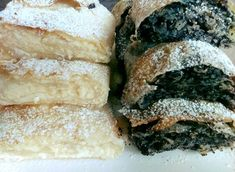 Na a vasárnapi desszert meg is van! Spanakopita, Winter Food, Food And Drink, Sweets, Bread, Snacks, Cookies, Baking, Cake
