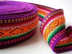 embroidered ribbon sewing trim geometric design jacquard ribbon craft supplies 35 mm x 3.85 m/4.21 yd