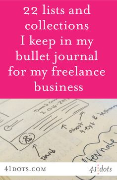For me, there's a sweet spot between paper and digital tools when it comes to tracking and planning for my graphic design business. Here's what's on paper!