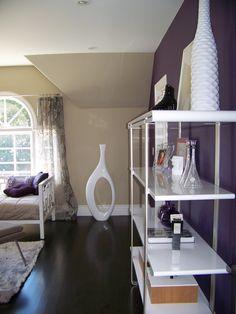 bedroom - accent wall and hardwood floors Home Bedroom, Bedroom Decor, Bedroom Ideas, Accent Wall Bedroom, Accent Walls, Bedroom Flooring, Contemporary Bedroom, Bedroom Colors, New Room