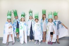Mer Mag: Kids Craft Camp: Nature Crowns and Cloaks