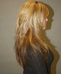 Best Long Choppy Layers Hairstyle