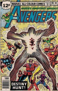 AVENGERS # 176  DAVID MICHELINE / PABLO MARCOS  MARVEL COMICS  1978  vf-(7.5) ~
