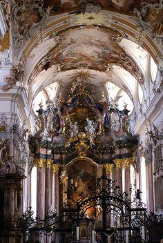 Amorbach Abbey Church, Amorbach, Miltenberg, Bavaria, Germany by HEN-Magonza