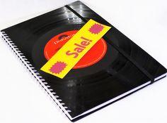 KALENDER+Schallplatte+upcycling+Buchkalender+Vinyl+von+VinylKunst+Aurum+-+Schallplatten+Upcycling+der+besonderen+ART+auf+DaWanda.com