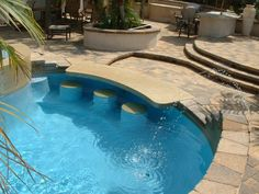 Special Pool Spa Features - San Diego Swimming Pool Builders   San Diego Dream Pools
