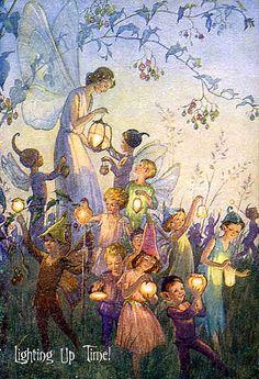 Fairies Lighting Up