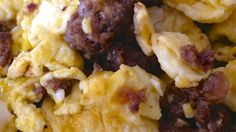 Wild Game Sausage Scramble (Recipe) - Made with venison sausage, eggs, parmesan cheese...   Outdoor Channel
