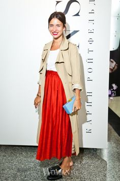 Natasha Goldenberg trench coat