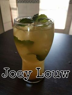For The Love Of Banting: Banting Ginger Ale - Joey Louw