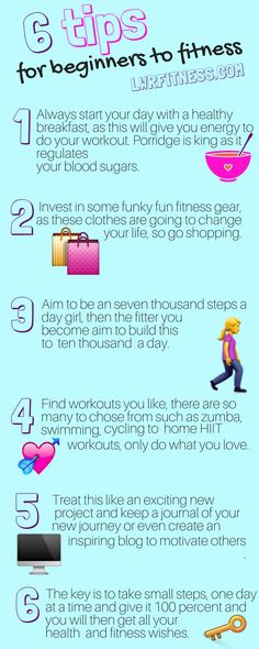 Tips for Beginners to Fitness, these tips make living a healthy lifestyle easy and doable. Even if you just try 3 of these 6 tips you wll start to feel fitter and healthier. Healthy Lifestyle Tips, Healthy Living Tips, Healthy Habits, Healthy Tips, How To Stay Healthy, Healthy Eating, Healthy Lifestyle Motivation, Healthy Weight, Healthy Choices