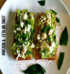 Welcome to the SimpleCookingChannel. Things might get pretty simple sometimes but sometimes that's just what a person needs. I hope you like my recipe for avocado and feta on toast. Breakfast Dessert, Breakfast Recipes, Healthy Nutrition, Healthy Eating, Small Meals, Avocado Recipes, Vegetarian Food, Nutritious Meals, Lunches