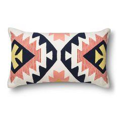 """Guest room inspiration - Essentials� Southwest Lumbar Pillow (12x20"""")"""