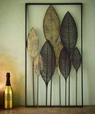 Wanddecoratie metaal 'bladeren' zwart/bruin_1 Home Decor, Leaves, Decoration Home, Room Decor, Home Interior Design, Home Decoration, Interior Design