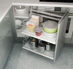 rangement coulissant 1 panier assiettes pour meuble de 60 cm cuisine pinterest organizations and storage