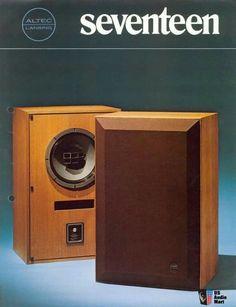 Vintage audio Altec Lansing speaker Ad