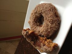GF, DF, pumpkin chip baked donuts.  1/2c. Coconut flour,1/2c.almond flour , 1/4 c. Pecan meal , 2eggs, 2tbsp. Melted coconut oil, pinch of salt, 2 packs stevia, 2tbsp. Honey,1/2tsp baking soda ,1tsp.cinnamon,1/2tsp.nutmeg , 1/2c.DF chocolate chips..... bake at •350... Cool on rack then dip in melted coconut oil and then into a bowl of cinnamon and sugar... Or leave plain for a low carb treat!