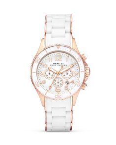 MARC BY MARC JACOBS Rock Replacement with Rose Gold Accents Watch, 40mm - Jewelry & Accessories - Bloomingdale's