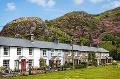 Beddgelert village in Snowdonia, Wales, UK Wales Uk, North Wales, Wales Snowdonia, Welsh Cottage, Visit Wales, Stone Cottages, Great View, Places To Go, Beautiful Places