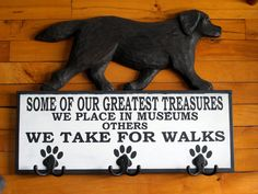 Gorgeous Black Labrador!!  crafted by Cattails Woodwork