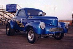 Stone, Woods and Cook Willys Gasser...