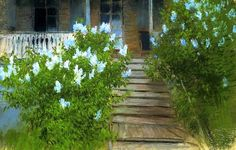 bofransson: 1895 Isaac Levitan - Spring. White lilacs (1895)