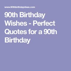 Image Result For 90th Birthday