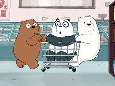 The Audition (2) Cartoon Network, Mermaid Wallpapers, Cute Wallpapers, Bear Cartoon, Cute Cartoon, Pardo Panda Y Polar, We Bare Bears Wallpapers, Cartoon Profile Pics, Bear Wallpaper