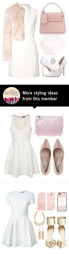 """Peppy Pink Puff"" by juliapharris97 on Polyvore featuring Thierry Mugler, RED Valentino, Valentino, SJP, Marc by Marc Jacobs and LISKA"