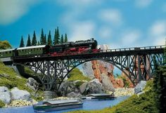 FALLER 120541 Stahltraegerbruecke (HO scale) bridge