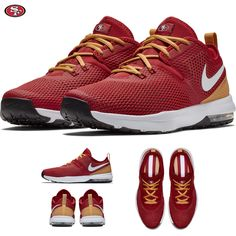 uk availability ea298 bdc94 Details about San Francisco 49ers Nike Air Max Typha 2 Shoes NFL 2018  Limited Edition NWT