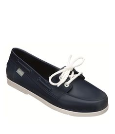 This Eco-Friendly Boat Shoe by Melissa is 100% Water Resistant and Super Stylish for your Summer 2013 Outfit