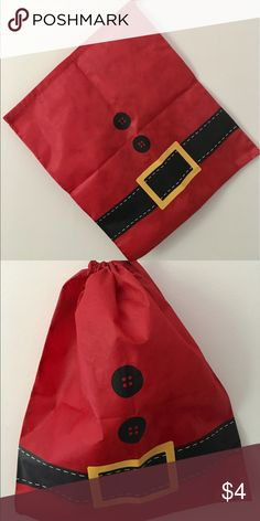 Thirty One Santa Bag Cute re-usable gift bag or decoration bag. Thirty One  Bags Totes