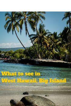 Local attractions and landmarks to visit in West Hawaii on the Big Island #Hawaii #BigIsland