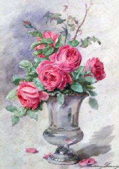 size: Giclee Print: Vase of Flowers, by Madeleine Jeanne Lemaire : Flower Artists, Flower Vases, Flowers, Academic Art, Geraniums, Find Art, Framed Artwork, Flower Designs, Painting & Drawing