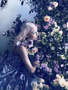 Elisabeth Erm by Camilla Åkrans for Dior Magazine n.5 Spring 2014