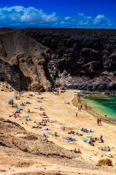 Papagayo Beaches in Lanzarote. #Lanzarote #CanaryIslands